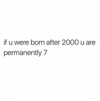 YOU WERE A BABY WHEN JA RULE AND ASHANTI WERE A DUO, YOU LITERALLY KNOW NOTHING (tw: @oshimakesmusic): if u were born after 2000 u are  permanently 7 YOU WERE A BABY WHEN JA RULE AND ASHANTI WERE A DUO, YOU LITERALLY KNOW NOTHING (tw: @oshimakesmusic)