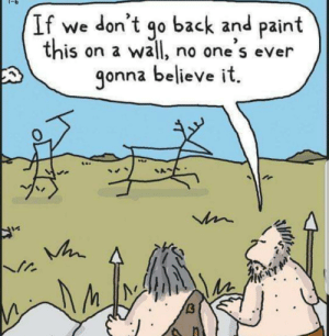 Meirl: If we don't  this on a wa|l, no one s eVer  go back and paint  gonna believe it.  A Meirl