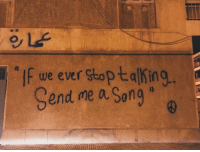 """A Song, Song, and Ever: """"If we ever stoptalking  Send me a Song  (C"""