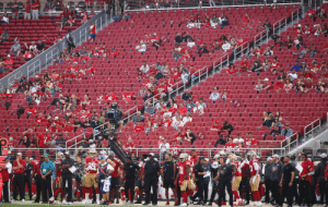 If you're confused how social distancing works, just imagine you're at a 49ers game anytime from 2014-2018 https://t.co/JRpHbjmePt: If you're confused how social distancing works, just imagine you're at a 49ers game anytime from 2014-2018 https://t.co/JRpHbjmePt