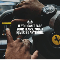 """Life, Memes, and Business: IF YOU CAN'T FACE  YOUR FEARS, YOU'LL  NEVER BE ANYTHING. It's all about your mindset! Fear is the enemy of success. Large rewards only result from taking comparably large risks. If you're ruled by fear, you'll never take enough risks and never achieve success you deserve. - Here are a few mental tricks to conquer fear: ✔️Value courage over security. To conquer fear, you must consciously dethrone """"security"""" as the thing that you value most in your life and replace it with the active virtue of """"courage."""" You must decide, once and for all, that it's more important for you to have the courage to do what you must to succeed, rather than to cling to the things that make you feel safe. ✔️Differentiate between fear & prudence. Prudence is a good thing. Just make sure you aren't pretending to be prudent-when you're just trying to avoid taking reasonable business risks, for instance, or putting yourself on the line to do what's necessary. ✔️Reframe fear into excitement. Tune in to the aspect of fear that's really fun. Think about the last time you rode a roller coaster: You probably felt plenty of fear, but you were also having a great time. Let's face it, a life without fear-and without the courage to overcome fear would be pretty bland and boring. 🤔 - Let me know if these tips are helpful!👇 - fear success millionairementor"""