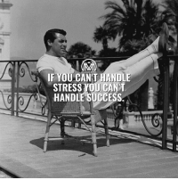 Energy, Memes, and Work: IF YOU CAN'T HANDLE  STRESS YUU CANT  HANDLE SUCCESS.  i  o Stress is what you feel when you have to handle more than you are used to. When you are stressed, your body responds as though you are in danger. It makes hormones that speed up your heart, make you breathe faster, and give you a burst of energy. This is called the fight-or-flight stress response. Some stress is normal and even useful. Stress can help if you need to work hard or react quickly. For example, it can help you win a race or finish an important job on time. - How can you relieve stress? You will feel better if you can find ways to get stress out of your system. The best ways to relieve stress are different for each person. Try some of these ideas to see which ones work for you: 😉👇 - ✔️Exercise. Regular exercise is one of the best ways to manage stress. Walking is a great way to get started. ✔️Write. It can help to write about the things that are bothering you. ✔️Let your feelings out. Talk, laugh, cry, and express anger when you need to with someone you trust. ✔️Do something you enjoy. A hobby can help you relax. Volunteer work or work that helps others can be a great stress reliever. - Did you like these tips? Comment below!👇 - stress success millionairementor