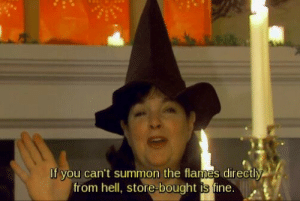 Halloween, Target, and Tumblr: If you can't summon the flames directly  from hell, store-bought is fine i-have-beards: Obligatory Halloween reblog.