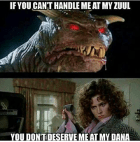 Memes, 🤖, and Dana: IF YOU CANTHANDLE MEAT MYZUUL  YOU DONTDESERVEME AT MY DANA Yaaas