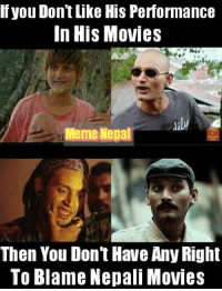 Bipin Karki #one_of_the_versatile_actor: If you Dont Like His Performance  In His Movies  Meme Nepal  Then You Dont Have Any Right  To Blame Nepali Movies Bipin Karki #one_of_the_versatile_actor