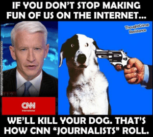 """CNN Threatens Meme Maker 