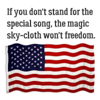 Magic: If you don'tstand for the  special song, the magic  sky-cloth won't freedom.