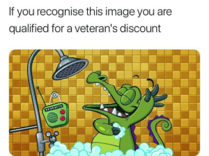 Pictures you can hear via /r/memes https://ift.tt/2IhrPkx: If you recognise this image you are  qualified for a veteran's discount  www Pictures you can hear via /r/memes https://ift.tt/2IhrPkx