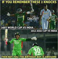 Happy Birthday Mushfiqur Rahim: IF YOU REMEMBER THESE 2 KNOCKS  TROLL  ASHRAPUNA  ONGLADES  CRICKET  2007 WORLD CUP VS INDIA  2012 ASIA CUP VS INDIA  NEWAY  IMUD  THEN NOT YOU THE BIRTHDAY BOY ISAWESOME Happy Birthday Mushfiqur Rahim