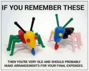 Expenses: IF YOU REMEMBER THESE  THEN YOU'RE VERY OLD AND SHOULD PROBABLY  MAKE ARRANGEMENTS FOR YOUR FINAL EXPENSES.