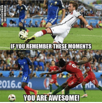 Football, Memes, and Link: IF YOU REMEMBERTHESE MOMENTS  2016 n  YOU ARE AWESOME! Who remembers 😍 🔺FREE LIVE FOOTBALL APP ➡️ LINK IN BIO!!! Credit ➡️ @wetrollfootball