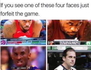 You don't mess around with these guys 😠 (via Reddit u/syedshazeb): If you see one of these four faces just  forfeit the game.  GAME S  BUCKS  TOR LEADS 3-2  EASTERN CONFERENCE FINALS  TOR  RAPTORS  EASTERN CONFRENCE FINALS GAME  Heat 98, Celtics 79-Series tled 3-3  James (MIA): 45 Pts, 15 Reb, 5 Ast  105 99  FINAL  WILCOPY  COPY WLLCOPY  NEA FINALS You don't mess around with these guys 😠 (via Reddit u/syedshazeb)