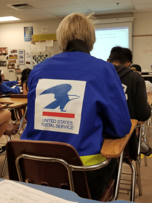 My friend who also browses this sub...apparently he thinks this is fashion. Let him have it bois: IF You  TELL THE  TRUTH  HAVETO  YOU SAID  SEAHAWK  TM  UNITED STATES  POSTAL SERVICE My friend who also browses this sub...apparently he thinks this is fashion. Let him have it bois
