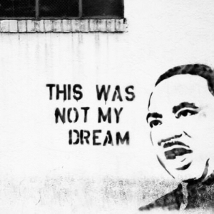 If you think we have achieved even a modicum of the racial justice that Dr. King preached, you are either extremely naive or you don't want to see the truth.⠀ •⠀ Know the artist?? Please tell us in the comments so we can give proper credit for this awesome piece of work https://www.instagram.com/p/B7jB7IxhfT3/?igshid=1rz6q1aqjvmsn: If you think we have achieved even a modicum of the racial justice that Dr. King preached, you are either extremely naive or you don't want to see the truth.⠀ •⠀ Know the artist?? Please tell us in the comments so we can give proper credit for this awesome piece of work https://www.instagram.com/p/B7jB7IxhfT3/?igshid=1rz6q1aqjvmsn