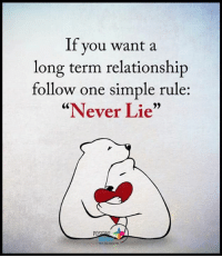 """If you've ever wanted to make your ex crave to have you back, I'll show you exactly what to do and what to say to get your ex lover back in your arms… http://bit.ly/2ndChanceone: If you want a  long term relationship  follow one simple rule:  """"Never Lie""""  POS If you've ever wanted to make your ex crave to have you back, I'll show you exactly what to do and what to say to get your ex lover back in your arms… http://bit.ly/2ndChanceone"""
