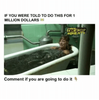 Leeches Follow me @Crelube for more 😘 Tag a Friend👇 Crelube game: IF YOU WERE TOLD TO DO THIS FOR 1  MILLION DOLLARS  factor  MOMENTS  Comment if you are going to do it Leeches Follow me @Crelube for more 😘 Tag a Friend👇 Crelube game