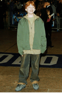 If you're ever unsure about your outfit, just remember that Rupert Grint went to his first premiere in this https://t.co/rvYNsp9Nj3: If you're ever unsure about your outfit, just remember that Rupert Grint went to his first premiere in this https://t.co/rvYNsp9Nj3