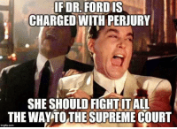 perjury: IFDR. FORDIS  CHARGED WITH PERJURY  SHE SHOULD FIGHT ITALL  THE WAYTO THESUPREME COURT  imglip.com