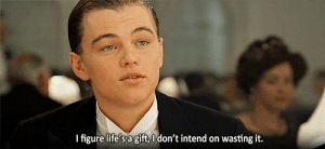 https://iglovequotes.net/: Ifigure life's a gift, O don't intend on wasting it. https://iglovequotes.net/