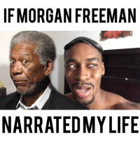 Morgan Freeman is trying to kill me 🤦🏾‍♂️😂😂 • • For more videos follow me @kmoorethegoat: IFMORGAN FREEMAN  NARRATEDMY LIFE Morgan Freeman is trying to kill me 🤦🏾‍♂️😂😂 • • For more videos follow me @kmoorethegoat