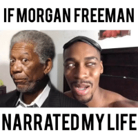 Morgan Freeman is trying to kill me 🤦🏾‍♂️😂😂 • • For more videos follow me @kmoorethegoat: IFMORGAN FREEMAN  NARRATEDMYLIFE Morgan Freeman is trying to kill me 🤦🏾‍♂️😂😂 • • For more videos follow me @kmoorethegoat