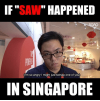 """When kids start to get too rowdy during a field trip to <link in bio>… 'extreme' measures have to be taken.. Does this remind anyone else of SAW?: IF""""SAW"""" HAPPENED  (I'm so angry I might just kidnap one of you)  IN SINGAPORE When kids start to get too rowdy during a field trip to <link in bio>… 'extreme' measures have to be taken.. Does this remind anyone else of SAW?"""