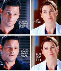 Bitch, Love, and Memes: IFYOU NEED  SOMEONE  TO BITCH T  OR JUST BE  PERSON  IDONT  KNOW  MEANBUT  0  DO I love these two 😭 #GreysAnatomy https://t.co/mKDHbhaoaW