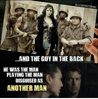 Future, Meme, and Comics: IG/aTHEPARTYNER02  AND THE GUY IN THE BACK  HE WAS THE MAN  PLAYING THE MAN  DISGUISED AS  ANOTHER MAN I'm from the future and I still wasn't prepared for this meme...  #gothamcitymemes   -Reverse Flash