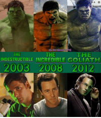 The Different Hues of Hulk - Eric Bana as The Indestructible Hulk Edward Norton as The Incredible Hulk Mark Ruffalo as The Goliath Hulk - Who's your favorite Hulk?🤔| ->Feel free to repost<- - Comment below and Tag your Friends👇 - marvel marveluniverse avengersageofultron Hulk AntMan FantasticFour incrediblehulk hero superhero infinitywar thor theavengers daredevil StanLee mcu spiderman Thanos GuardiansoftheGalaxy marvelcinematicuniverse captainamerica ironman Xmen blackpanther thor civilwar marvelstudios comics captainamericacivilwar marvelcomics dccomics: IG CBM HYPE  THE  HE  THE  INDESTRUCTIBLE INCREDIBLE GOLIATH  2003 2008 2012 The Different Hues of Hulk - Eric Bana as The Indestructible Hulk Edward Norton as The Incredible Hulk Mark Ruffalo as The Goliath Hulk - Who's your favorite Hulk?🤔| ->Feel free to repost<- - Comment below and Tag your Friends👇 - marvel marveluniverse avengersageofultron Hulk AntMan FantasticFour incrediblehulk hero superhero infinitywar thor theavengers daredevil StanLee mcu spiderman Thanos GuardiansoftheGalaxy marvelcinematicuniverse captainamerica ironman Xmen blackpanther thor civilwar marvelstudios comics captainamericacivilwar marvelcomics dccomics