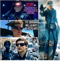 TyeSheridan can never get a break from those Cyclops Visors…even in a Movie where he's not even playing … ScottSummers ! 😂 The right picture is our First Look at StevenSpielberg's New 2018 Film…' ReadyPlayerOne' ! 😱 And the left Middle picture is our First look at Cyclops's New Goggles from the Next 2018 XMen Film… XMenDarkPhoenix ! 😍👏🏽 MCU MarvelCinematicUniverse 💥 Marvel ❌ SanDiegoComicCon SDCC ComicCon: IG DC.MARVEL.UNITE  ONE  TYE SHERIDAN  WILL ALWAYS  BEACYCLOPS! TyeSheridan can never get a break from those Cyclops Visors…even in a Movie where he's not even playing … ScottSummers ! 😂 The right picture is our First Look at StevenSpielberg's New 2018 Film…' ReadyPlayerOne' ! 😱 And the left Middle picture is our First look at Cyclops's New Goggles from the Next 2018 XMen Film… XMenDarkPhoenix ! 😍👏🏽 MCU MarvelCinematicUniverse 💥 Marvel ❌ SanDiegoComicCon SDCC ComicCon