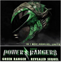 For some Reason Saban Released our First Look at The GreenRanger Helmet in PowerRangers which may very well be RitaRepulse'd Helmet…when the Movie only came out today. 🤔 Does this count as a Spoiler ? I'm seeing the PowerRanger Movie this Saturday…and I heard there's an After credit scene, it could be about Tommy The Green Ranger which may somehow be tied to Rita. But Comment Below your Thoughts and when you'll be seeing The… PowerRangersMovie ! GOGO ⚡️: IG I a DC. MARVEL UNITE  SABAN'S  GREEN RANGER  REVEALED SEQUEL For some Reason Saban Released our First Look at The GreenRanger Helmet in PowerRangers which may very well be RitaRepulse'd Helmet…when the Movie only came out today. 🤔 Does this count as a Spoiler ? I'm seeing the PowerRanger Movie this Saturday…and I heard there's an After credit scene, it could be about Tommy The Green Ranger which may somehow be tied to Rita. But Comment Below your Thoughts and when you'll be seeing The… PowerRangersMovie ! GOGO ⚡️