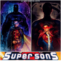 Batman, Memes, and Superman: IG I BOC.MARIVEL UNITE  GUPer Sons ( Artist : @debaditya707 ) Not my FanCast…But who would want to see The SuperSons in The DCEU in like…10 years ? 😂 Imagine HenryCavill's SuperMan and BenAffleck's BatMan with Sons… DamianWayne ( Robin) and JonKent ( SuperBoy) ? I'd rather see CameronBoyce or AsaButterfield play BeastBoy instead. But Comment Below who you would Cast ! DCExtendedUniverse JusticeLeague 💥 UniteTheLeague DC