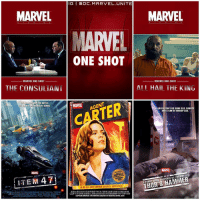 Why am I just learning about these MARVEL ONE SHOT Movies Now ? 😂 There have been several One Shot Films across the MCU ! Comment Below if you've seen any and which is your Favorite ! MarvelCinematicUniverse 💥: IG I DC MARVEL UNITE  MARVEL  MARVEL  MARVEL  AT ALL TIMES  ONE SHOT  MARVEL ONE-SHOT  MARVEL ONE-SHOT  ALL HAIL THE KING  THE CONSULTANI  WDN THE BATTLE.  MARVE AGENT  TER  SWERE LEFT BEHIND  A QUICK STOP FOR SOME GAS, DONUTS  AND A CAN OF WHOOP ASS.  MARTEL.  O  A FUNNY TAING HAMMER  ITEM 47  2013  INAN ALL-NEW CAPTAIN AMERICA ADVENTURE  CAPTAINAMERICA: THE WINTER SOLDIER INTHEATRES APRIL 2014 Why am I just learning about these MARVEL ONE SHOT Movies Now ? 😂 There have been several One Shot Films across the MCU ! Comment Below if you've seen any and which is your Favorite ! MarvelCinematicUniverse 💥