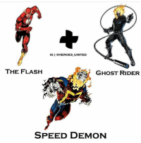 Batman, Ghost Rider , and Memes: IG I @HEROES UNITED  THE FLASH  GHOST RIDER  SPEED DEMON Amalgam !! By @heroes_united ! dc dccomics dceu dcu dcrebirth dcnation dcextendeduniverse batman superman manofsteel thedarkknight wonderwoman justiceleague cyborg aquaman martianmanhunter greenlantern theflash greenarrow suicidesquad thejoker harleyquinn comics injusticegodsamongus