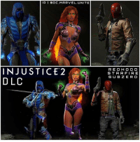 Fire, Hype, and Memes: IG I ODC. MARVEL. UNITE  INJUSTICE 2  DLC  RED HOOD  STAR FIRE  SUB ZERO BREAKING I2 NEWS : 🚨 3 InJustice2 DLC Characters have been Revealed… StarFire, RedHood and SubZero ! 😱 YEEES ! InJustice 2 HYPE ! InJusticeGodsAmongUs 💥 DC 😍😍😍