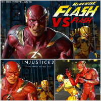 RUN BARRY RUN ! 😱 We got our First Look at ReverseFlash VS TheFlash in The New INJUSTICE 2 Trailer ! Reverse Flash is confirmed to be a Skin but he has his own Fighting Moves, Voice and Different Abilities. BarryAllen is also voiced by GrantGustin in this Game. This was so BadAss, I can't even imagine what a Fight between Flash and ProfessorZoom would be like in EzraMiller's Flash Movie ! More InJustice Posts to come, stay tuned ! ⚡️ DCEU InJusticeGodsAmongUs 💥 DCComics: IG I ODC. MARVEL. UNITE  INJUSTICE 2  EVERY BATTLE DE FINES YOU RUN BARRY RUN ! 😱 We got our First Look at ReverseFlash VS TheFlash in The New INJUSTICE 2 Trailer ! Reverse Flash is confirmed to be a Skin but he has his own Fighting Moves, Voice and Different Abilities. BarryAllen is also voiced by GrantGustin in this Game. This was so BadAss, I can't even imagine what a Fight between Flash and ProfessorZoom would be like in EzraMiller's Flash Movie ! More InJustice Posts to come, stay tuned ! ⚡️ DCEU InJusticeGodsAmongUs 💥 DCComics