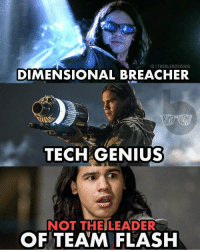 Batman, Facts, and Memes: IG I THEBLERDVISION  DIMENSIONAL BREACHER  TECH GENIUS  NOT THEILEADER  OF TEAM FLASHH Facts. Season 4 of the flash is just unwatchable, it's garbage, i can't watch a full episode. What did you think of Season 4? @theblerdvision Blackpanther Mcu Marvel dc dccomics dceu dcu dcrebirth dcnation dcextendeduniverse batman superman manofsteel thedarkknight wonderwoman justiceleague cyborg aquaman martianmanhunter greenlantern venom spiderman infinitywar avengers avengersinfintywar ironman thanos