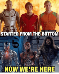 🙌🙌! They weren't even trying with the costumes on smallville 😂 By @theblerdvision . dc dccomics dceu dcu dcrebirth dcnation dcextendeduniverse batman superman manofsteel thedarkknight wonderwoman justiceleague cyborg aquaman martianmanhunter greenlantern theflash greenarrow suicidesquad thejoker harleyquinn comics injusticegodsamongus: IG I THEBLERDVISION  STARTED FROM THE BOTTOM  NOW WE'RE HERE 🙌🙌! They weren't even trying with the costumes on smallville 😂 By @theblerdvision . dc dccomics dceu dcu dcrebirth dcnation dcextendeduniverse batman superman manofsteel thedarkknight wonderwoman justiceleague cyborg aquaman martianmanhunter greenlantern theflash greenarrow suicidesquad thejoker harleyquinn comics injusticegodsamongus