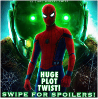 🚨 SWIPE FOR MAJOR SpiderManHomeComing SPOILERS! 🚨 - COINCIDENCE…I THINK NOT ! 😱 Right when Vulture opened that door…everyone gasped. 😂👏🏽 This was a great Plot Twist and I loved the way TomHolland was just staring at MichaelKeaton the entire scene. AdrianToomes even gave PeterParker a chance to stay out of his way and go to Homecoming with his Daughter…But of course Peter Suited up as SpiderMan and went to stop TheVulture ! I don't think we'll see LizAllan return in The Spidey Sequel though because her Father is in prison and she's moving Schools. 😕 Art : @camw1n MarvelCinematicUniverse 💥 MCU 🕷: IG  IGDC MARVEL.UNTT E  D C.MAR VEL UNITE  HUGE  PLOT  TWIST!  SWIPE FOR SPOILERS! 🚨 SWIPE FOR MAJOR SpiderManHomeComing SPOILERS! 🚨 - COINCIDENCE…I THINK NOT ! 😱 Right when Vulture opened that door…everyone gasped. 😂👏🏽 This was a great Plot Twist and I loved the way TomHolland was just staring at MichaelKeaton the entire scene. AdrianToomes even gave PeterParker a chance to stay out of his way and go to Homecoming with his Daughter…But of course Peter Suited up as SpiderMan and went to stop TheVulture ! I don't think we'll see LizAllan return in The Spidey Sequel though because her Father is in prison and she's moving Schools. 😕 Art : @camw1n MarvelCinematicUniverse 💥 MCU 🕷