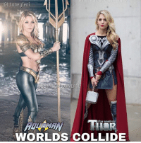 Batman, Memes, and Superman: IG) laneyfeni  WORLDS COLLIDE Cosplaying on another level!! @laneyfeni is in a league of her own ! Which cosplay do you prefer? All credit to @laneyfeni and the photographer! Ps: DM me your cosplays to be featured! dc dccomics dceu dcu dcrebirth dcnation dcextendeduniverse batman superman manofsteel thedarkknight wonderwoman justiceleague cyborg aquaman martianmanhunter greenlantern theflash greenarrow suicidesquad cosplay cosplaygirl
