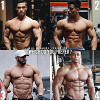 Clothes, Facebook, and Gym: IG: @LE GLONS-. PRODUC TION -.Tam  WHICH DO YOU PREFER? 🔥😳🤔WHICH PHYSIQUE DO YOU PREFER? Founder 👉: @king_khieu. 1? 2? 3? or 4? Why-why not? Rank in order of preference. Vote 👇 below! Thoughts? 🤔 What do you guys think? COMMENT BELOW! Athletes. 1 - @alex_ifbbpro. 2 - @dominicolai. 3 - @dragos_syko. 4 - @onome_egger. TAG SOMEONE who needs to lift! _________________ Looking for unique gym clothes? Use our 10% discount code: LEGIONS10🔑 on Ape Athletics 🦍 fitness apparel! The link is in our 👆 bio! _________________ Principal 🔥 account: @fitness_legions. Facebook ✅ page: Legions Production. @legions_production🏆🏆🏆.
