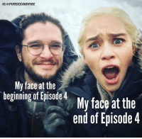 This episode was LIT 🔥😩: IG:@PUREICEANDFIRE  My face at the  begining of isdeMy face at thie  end of Episode 4 This episode was LIT 🔥😩