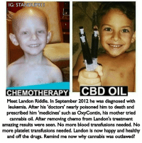 IG STANDUP9I CHEMOTHERAPY CBD OIL Meet Landon Riddle in