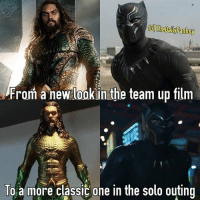 From @thedailyfanboy - If you like this picture, follow for more! 2018, the year of Kings! What are we digging more, new or classic? PS I just realized that Aquman, since he's king of Atlantis, is literally King Arthur lol marvel dc mcu dceu marvelcomics dccomics comics blackpanther aquaman 2018 meme costume comicbook kingtchalla kingarthur vibranium atlantis wakanda trident cacw jl justiceleague captainamericacivilwar: IG The Dail Fanboy  From new look in the team up film  To a more classic one in the solo outing From @thedailyfanboy - If you like this picture, follow for more! 2018, the year of Kings! What are we digging more, new or classic? PS I just realized that Aquman, since he's king of Atlantis, is literally King Arthur lol marvel dc mcu dceu marvelcomics dccomics comics blackpanther aquaman 2018 meme costume comicbook kingtchalla kingarthur vibranium atlantis wakanda trident cacw jl justiceleague captainamericacivilwar