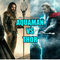 """Before you say all Thor needs to do is electrocute Aquaman, you do realize he can produce his own lightening. So Thor can't just zap him and win 🙂 From: @the.geekguide - One thing is for sure, is that Aquaman will definitely get the respect he deserves now, thanks in part to @prideofgypsies! He does more than just """"talk to fish"""". He has super strength, advanced swimming capabilites. Not to mention he can withstand the pressure from the depths of the sea. We all know Thor and his capabilites so I will not elaborate on him. So who do you got your money on?? The god of the sea or the god of thunder? ⬇⬇ let the battle of the beards begin: IG @THE GEEK GUIDE  N AQUAMAN  THOR Before you say all Thor needs to do is electrocute Aquaman, you do realize he can produce his own lightening. So Thor can't just zap him and win 🙂 From: @the.geekguide - One thing is for sure, is that Aquaman will definitely get the respect he deserves now, thanks in part to @prideofgypsies! He does more than just """"talk to fish"""". He has super strength, advanced swimming capabilites. Not to mention he can withstand the pressure from the depths of the sea. We all know Thor and his capabilites so I will not elaborate on him. So who do you got your money on?? The god of the sea or the god of thunder? ⬇⬇ let the battle of the beards begin"""