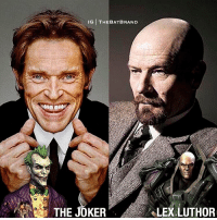 Many wanted to see this happen. What are your THOUGHTS? I personally wanted to see Bryan Cranston as Lex.: IG THEBATBRAND  THE JOKER  eLEXLUTHOR Many wanted to see this happen. What are your THOUGHTS? I personally wanted to see Bryan Cranston as Lex.