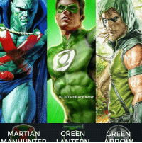 Pick one you would most like to see added to the Justice League DC Extended Universe films right now. - Art by @alexrossart: IG TOTHEBATBRAND  MARTIAN GREEN  GREEN Pick one you would most like to see added to the Justice League DC Extended Universe films right now. - Art by @alexrossart