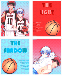 School, Strong, and August: IGH  EIRIN  10  SEIRIN  KAGAMI, TRIGR  AUGUST, 2  LOOD THPE   THE  SHADO  ΠΑΜΕ: KuROKD, TETsugR  EIRTHDRH: JANUARY,3  LOOD THPE:  SCHOOL: SEIRIN HIGH  uMEER:  Favorite Kuroko no Basket Pairings - KagaKuro (´・ω・`)
