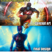 Things that I like and dislike about the Concept Art - The Yellow Lighting✅ - DC Universe Online Inspired✅ - Wrong Symbol ❌ - Fingerless ❌ - Bulky ❌ Things that I like and dislike about the final Flash suit design (Please don't mistake this with the Wayne tech suit later on the film) - Injustice inspired✔ - Cowl Nicely Designed✔ - Smooth Design ✔ - Blue Lightning ❌ - Fingerless Glove ❌ BTW BOTH OF THEM ARE NOT COMIC ACCURATE! THEY ARE GAME ACCURATE FOOLS! DC DCEU DCExtendedUniverse ManOfSteel BvS Batman Superman WonderWoman Aquaman SuicideSquad TheFlash LegendsOfTomorrow Arrow Memes Arrowverse JusticeLeague Constantine Supergirl Darkseid YoungJustice Cyborg GreenLantern Shazam DCMemes TheJoker HarleyQuinn Deadshot Robin Nightwing DCRebirth: IGI  Concept Art  Final Design Things that I like and dislike about the Concept Art - The Yellow Lighting✅ - DC Universe Online Inspired✅ - Wrong Symbol ❌ - Fingerless ❌ - Bulky ❌ Things that I like and dislike about the final Flash suit design (Please don't mistake this with the Wayne tech suit later on the film) - Injustice inspired✔ - Cowl Nicely Designed✔ - Smooth Design ✔ - Blue Lightning ❌ - Fingerless Glove ❌ BTW BOTH OF THEM ARE NOT COMIC ACCURATE! THEY ARE GAME ACCURATE FOOLS! DC DCEU DCExtendedUniverse ManOfSteel BvS Batman Superman WonderWoman Aquaman SuicideSquad TheFlash LegendsOfTomorrow Arrow Memes Arrowverse JusticeLeague Constantine Supergirl Darkseid YoungJustice Cyborg GreenLantern Shazam DCMemes TheJoker HarleyQuinn Deadshot Robin Nightwing DCRebirth