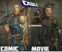 Okay, @joshbrolin as Cable looks DOPE.🔥 I am in awe.👏 What're your thoughts on his look for Deadpool2 ? ~ Lopro⚡️: ( IGI HEROACCESS  COMIC MOVIE Okay, @joshbrolin as Cable looks DOPE.🔥 I am in awe.👏 What're your thoughts on his look for Deadpool2 ? ~ Lopro⚡️
